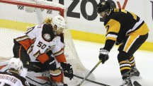 The Pittsburgh Penguins have a 100 per cent record this season (AP)