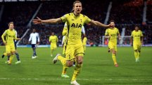 Harry Kane continued his goal-scoring form with a brace against West Brom