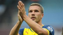 Arsenal's Lukas Podolski says 'hell will freeze over' before he joins bitter rivals Tottenham