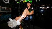 Pol Espargaro undergoes check up on injured foot in Barcelona