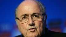 Sepp Blatter would be a worthy winner of the Nobel Prize, says Vladimir Putin