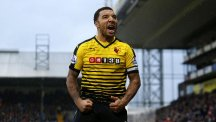 Watford's Troy Deeney, pictured, is capable of playing for England, according to manager Quique Sanchez Flores