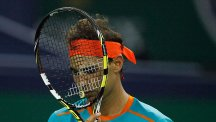 Rafael Nadal is out for the rest of the season