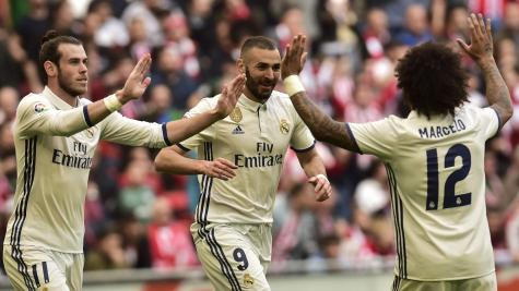 Real Madrid extend lead over Barcelona with win at Athletic  Bilbao