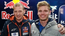 Red Bull KTM Ajo sign Binder for 2015
