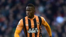 Stoke boss Mark Hughes felt Hull City's Maynor Figueroa, pictured, should have seen red