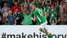 Stephen Ward's goal could not prevent Republic of Ireland falling to defeat