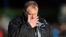 Dean Richards' Newcastle were slow starters against Northampton