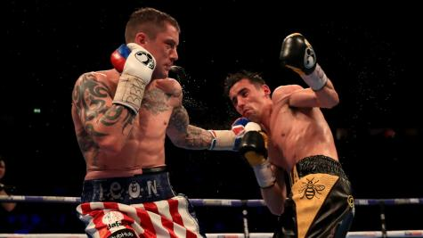 Ricky Burns angling for Anthony Crolla rematch