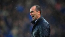 Everton boss Roberto Martinez admitted he was tempted to start dancing again following the 3-0 win at Stoke.