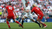 Chris Robshaw led England to a 29-18 victory at Twickenham in the 2014 Six Nations