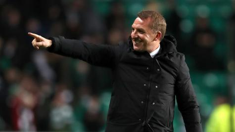 Brendan Rodgers hails Odsonne Edouard as Celtic aim for another domestic treble