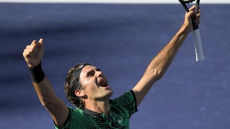 Roger Federer reassessing his goals after 'dream' start to the year