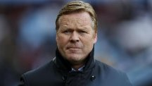 Southampton manager Ronald Koeman is happy to bide his time