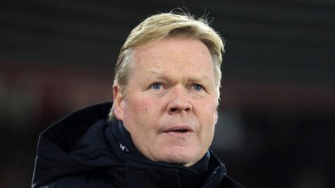 Ronald Koeman wants to coach Barcelona after getting Everton to Champions League