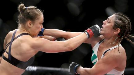 UFC 190: Rousey destroys Correia in 34 seconds