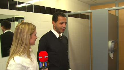 Rosenior: This toilet is my favourite place in the world