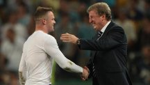 Roy Hodgson, right, is pleased Wayne Rooney has rediscovered his goalscoring touch with Manchester United