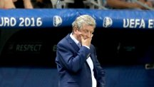 Roy Hodgson composed his resignation statement in the dressing room after defeat to Iceland