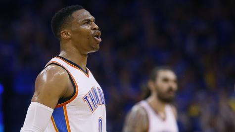 Westbrook goes off on reporter: 'Don't try to split us up'