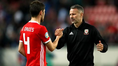 Ryan Giggs satisfied with point in Slovakia as Wales keep Euro 2020 hopes alive