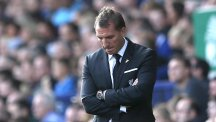 Brendan Rodgers was sacked by Liverpool in the hours after Sunday's 1-1 Merseyside derby draw