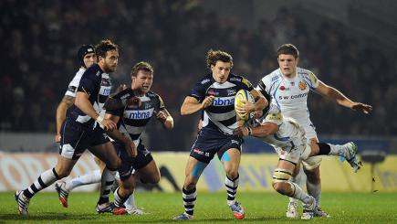 Sale Sharks take on Exeter Chiefs