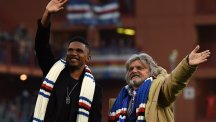 Samuel Eto'o joins Sampdoria