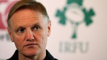 Joe Schmidt sought medical attention after Ireland's victory over Australia, suffering suspected appendicitis