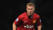 Paul Scholes has had a dig at Manchester City's supporters