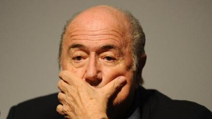 Sepp Blatter takes the brunt of Ian Stone's rant on FIFA