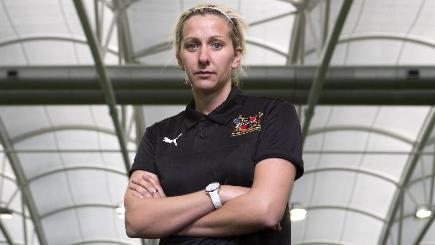 Sheffield FC's Carla Ward has big ambitions