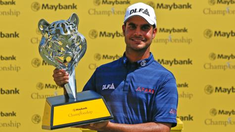 Sharma shines on Sunday at Maybank Championship
