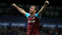 Mark Noble scored twice as the Hammers breezed past the Baggies 3-0