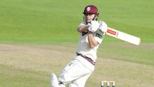 James Hildreth hit a big hundred for Somerset as Middlesex found plenty of trouble in Taunton
