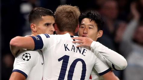 Son and Kane bag braces as five-star Spurs bludgeon Belgrade