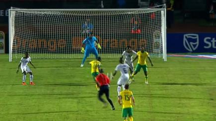 South Africa midfielder Mandia Masango scores thunderous volley against Ghana