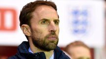 Young Lions boss Gareth Southgate is not getting carried away despite Monday's victory over Germany