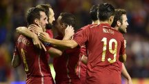 Spain secured qualification by beating Luxembourg (AP)