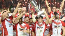 St Helens will begin their title defence against Catalans Dragons