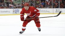 Dylan Larkin scored twice as the Detroit Red Wings beat the Carolina Hurricanes