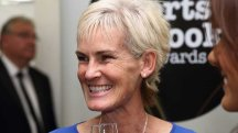 Still in the competition: Judy Murray