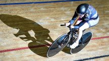 Dame Sarah Storey was unable to break the world hour record