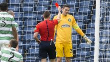 Craig Gordon's red card proved to be the turning point