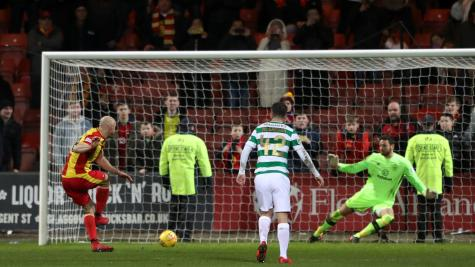 Partick Thistle 1-2 Celtic