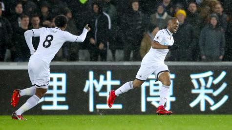 Swansea interested in West Ham's Andre Ayew