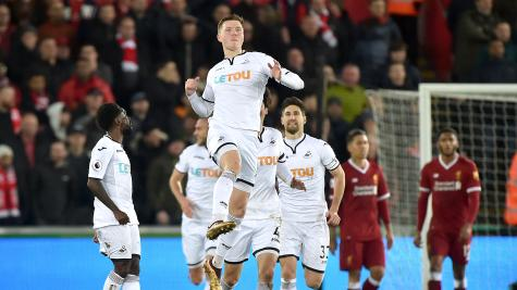 Swansea Banking Hopes On Jordan Ayew Ahead Of Liverpool Clash
