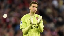 Wojciech Szczesny last played for Arsenal in their FA Cup semi-final against Reading