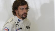 Fernando Alonso had endured a difficult year with McLaren (AP)