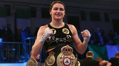 Taylor to face Linardatou in Manchester world title fight in November
